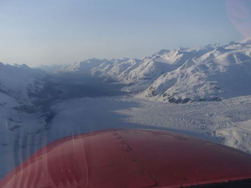 Coming out of Canada and down into Glacier Bay National Park