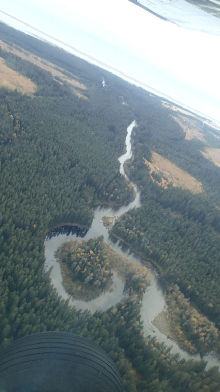 Coming in over the Ox-bow with about three miles to the end of runway 29