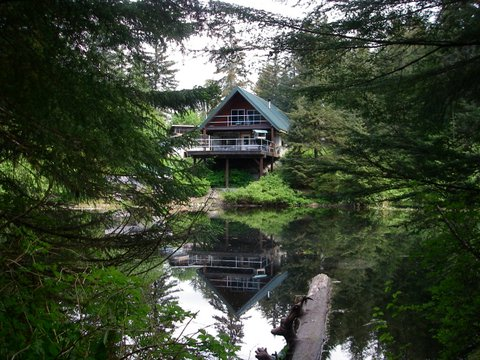 Beautiful commercially zoned house on lake