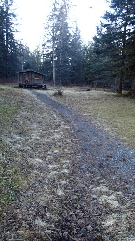 A dry path to the Eagle Cabin