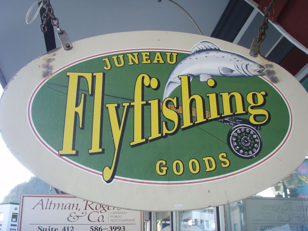 Juneau fly fishing goods bob 39 s blog situk river fly shop for Alaska fly fishing goods