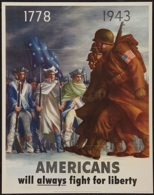 An appropriately themed propaganda poster from our collection