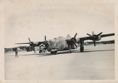 B-24 on the Yakutat Airbase ramp