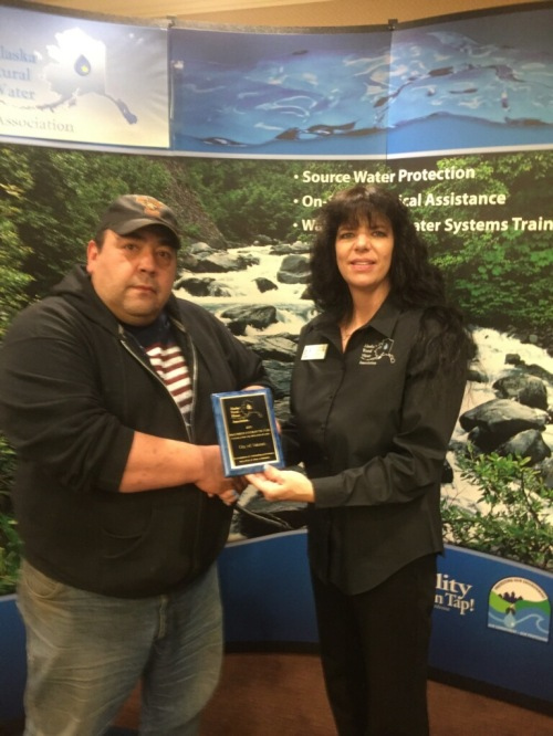 """Congratulations to our very own Ron Beattie,  for being recognized as the """"Wastewater Operator of the Year"""" in Alaska"""