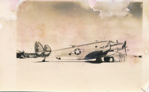 Lockheed Hudson of the 406th stationed in Yakutat - the damaged Ventura is the same basic design,  just improved