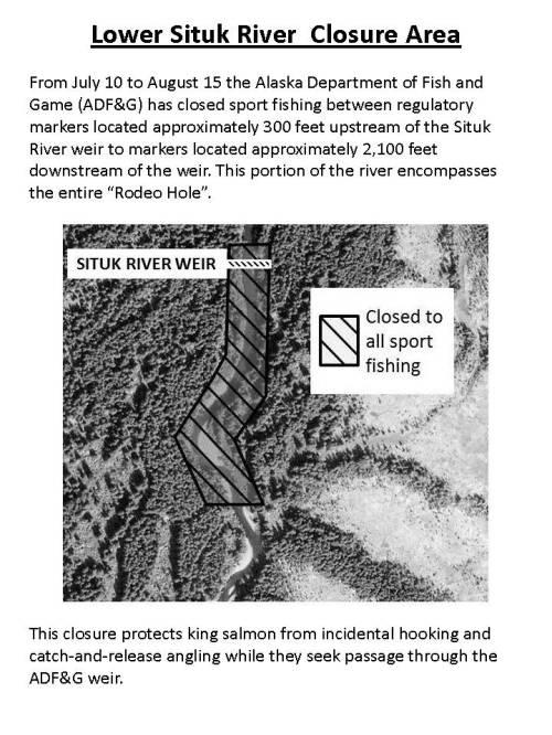 2017 Situk Closure Map