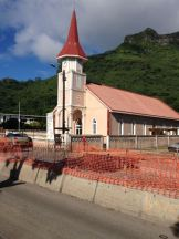 One of the MANY churches throughout the islands